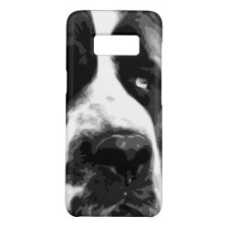 Case-Mate Barely There for Samsung Galaxy S8 Case with Saint Bernard Phone Cases design