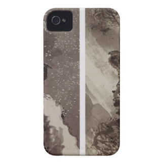 A Black Hawk and Two Crows by Yosa Buson Case-Mate iPhone 4 Case