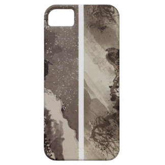 A Black Hawk and Two Crows by Yosa Buson iPhone SE/5/5s Case