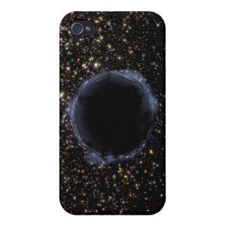 A Black Hole in a Globular Cluster iPhone 4 Case