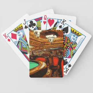 A Black Jack Table in the heart of a Vegas Casino Playing Cards
