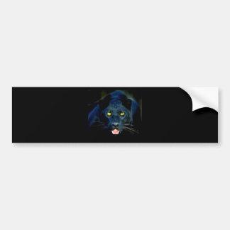 A Black Panther Bumper Sticker