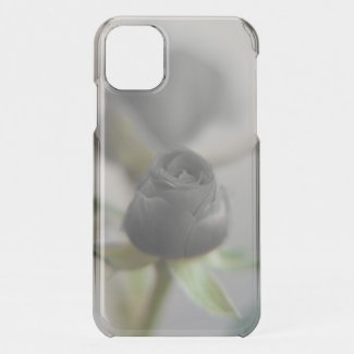 A black rose for your sweetheart iPhone 11 case