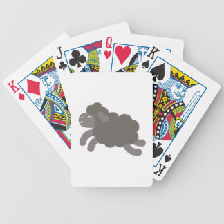 A Black Sheep Bicycle Playing Cards