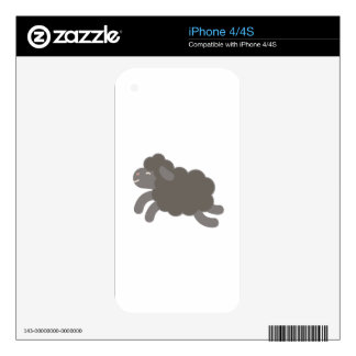 A Black Sheep Skin For The iPhone 4S