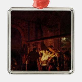 A Blacksmith's Shop, 1771 Metal Ornament