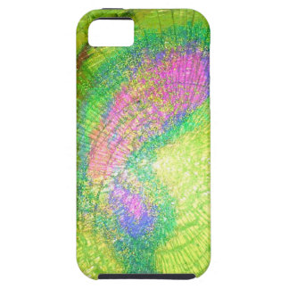 a blast of color glass iPhone SE/5/5s case