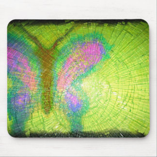a blast of color glass mouse pad
