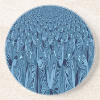 A blend of Blue Drink Coaster