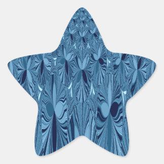 A blend of Blue Star Sticker