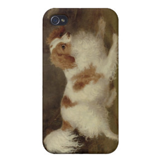 A Blenheim Spaniel, c.1820-30 (oil on canvas) Cover For iPhone 4