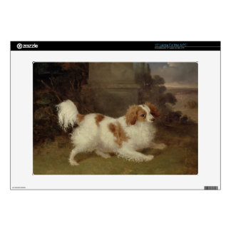 A Blenheim Spaniel, c.1820-30 (oil on canvas) Laptop Decals