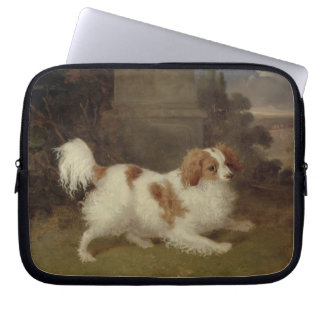 A Blenheim Spaniel c 1820-30 oil on canvas Computer Sleeves