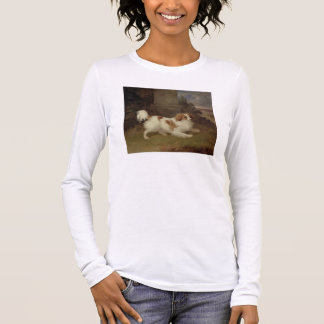 A Blenheim Spaniel, c.1820-30 (oil on canvas) Long Sleeve T-Shirt