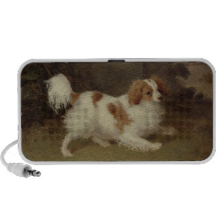 A Blenheim Spaniel c 1820-30 oil on canvas Laptop Speaker