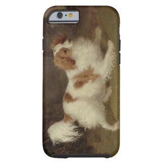 A Blenheim Spaniel, c.1820-30 (oil on canvas) Tough iPhone 6 Case