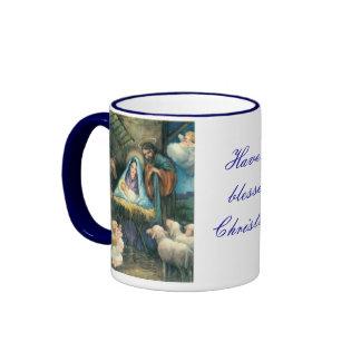 A Blessed Christmas Coffee Mug