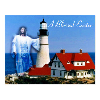 A Blessed Easter Postcard