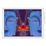 A Blissful Meditation Card