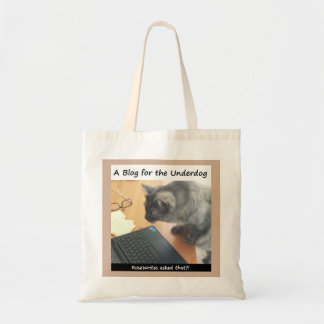 A Blog for the Underdog TOTE bag by RoseWrites
