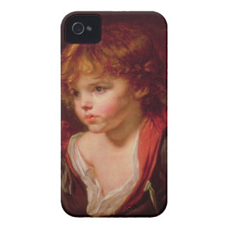 A Blond Haired Boy with an Open Shirt iPhone 4 Case-Mate Cases