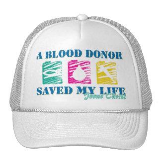 A blood donor saved JC Trucker Hat