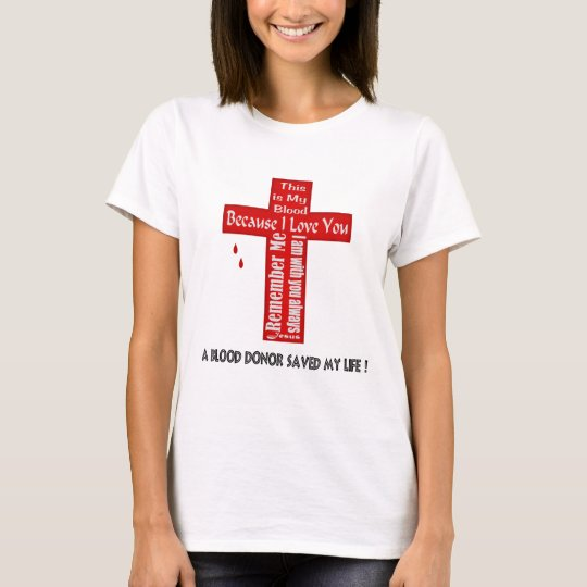 A Blood Donor T-Shirt
