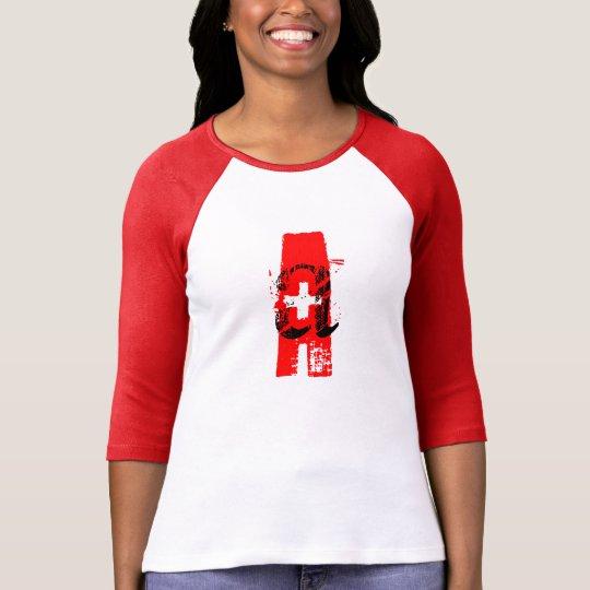 A+ Blood Type Women Tee