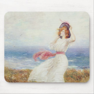 A Blow on the Cliffs Mouse Pad
