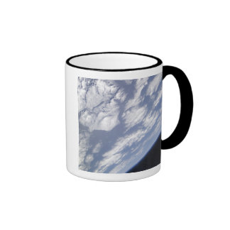 A blue and white part of Earth Mugs