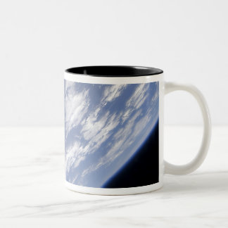 A blue and white part of Earth Mug