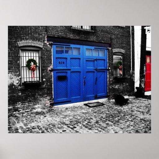 A Blue Door Posters