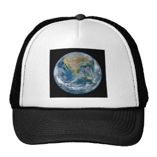 A Blue Marble Image of the Planet Earth Trucker Hat