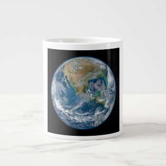 A Blue Marble Image of the Planet Earth Large Coffee Mug