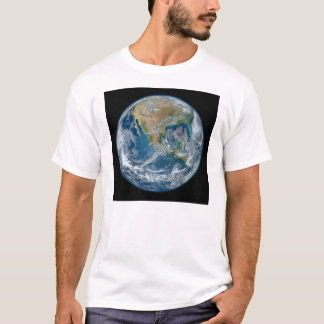 A Blue Marble Image of the Planet Earth T-Shirt