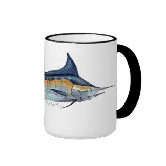 A Blue Marlin mug