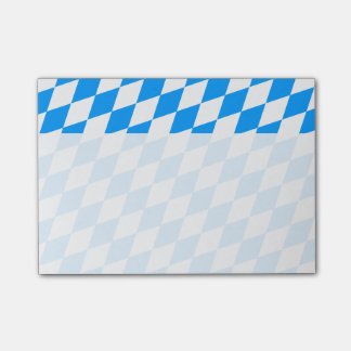 A blue white heart post-it® notes
