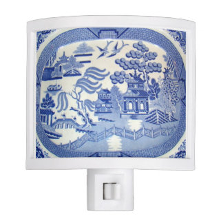 A Blue Willow Nightlight Make Safety Classy