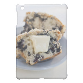 A blueberry muffin with butter iPad mini cover