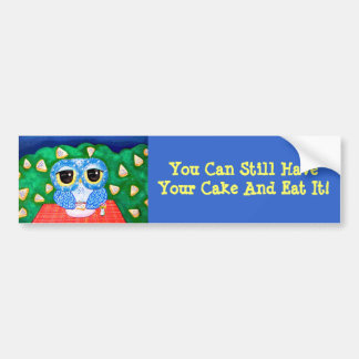 A Blueberry Night Bumper Stickers