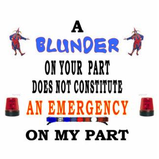A BLUNDER STATUETTE
