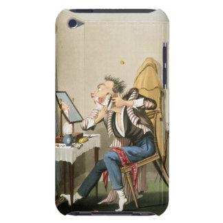 A Blunt Razor, pub. by Hunt, 1827 (coloured etchin iPod Case-Mate Case
