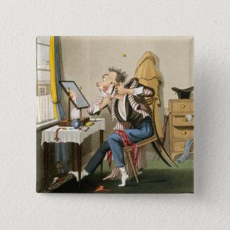 A Blunt Razor, pub. by Hunt, 1827 (coloured etchin Pinback Button