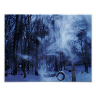 A Blustery Winters Eve Poster