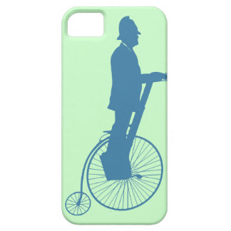 A Bobby on a Segway-Penny-Farthing iPhone 5 Cover