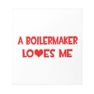 A Boilermaker Loves Me Memo Notepads