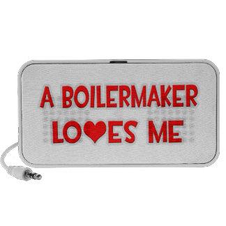 A Boilermaker Loves Me Portable Speakers