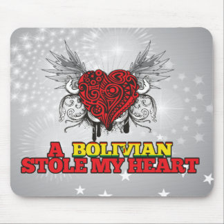 A Bolivian Stole my Heart Mouse Pad