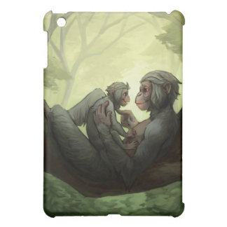 A Bonobo Mother's Love iPad cover