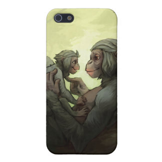 A Bonobo Mother's Love iPhone cover